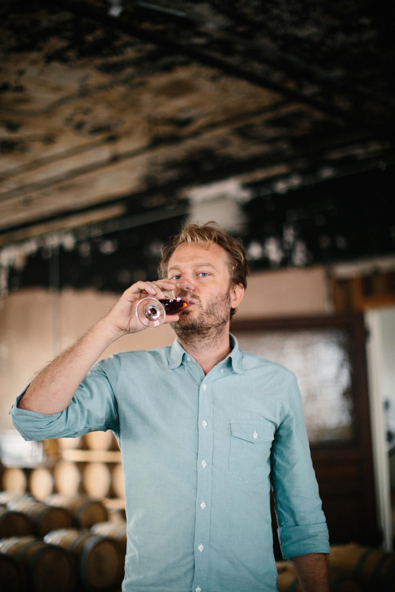Colin Spoelman at Kings County Distillery