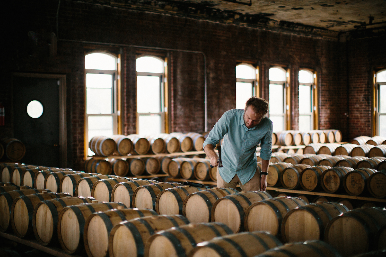 Checking On Barrels