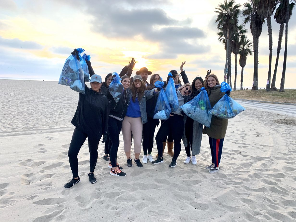 Force For Good Beach Clean Up