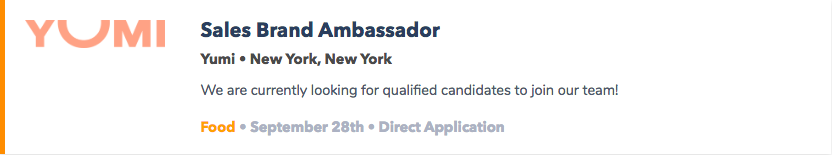 Brand Ambassador Jobs