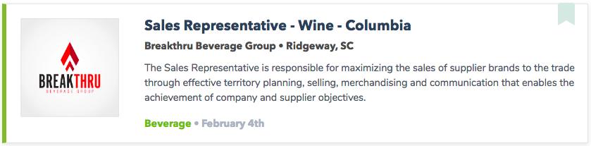 Best Wine Jobs