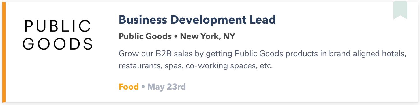 New York Mid Level Job