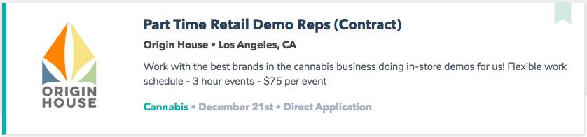 Best Cannabis Jobs