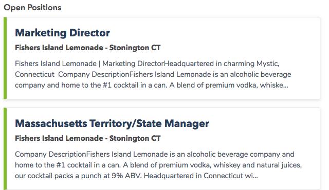 Best Beverage Jobs