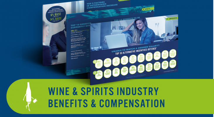 wine and spirits salaries