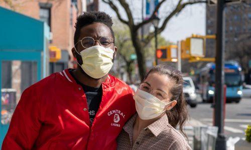 couple in brooklyn
