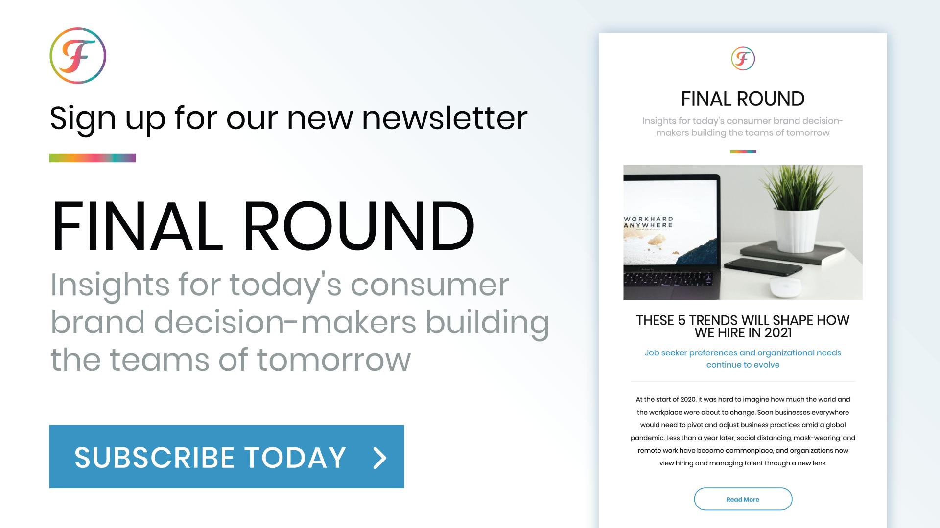 Final Round Newsletter