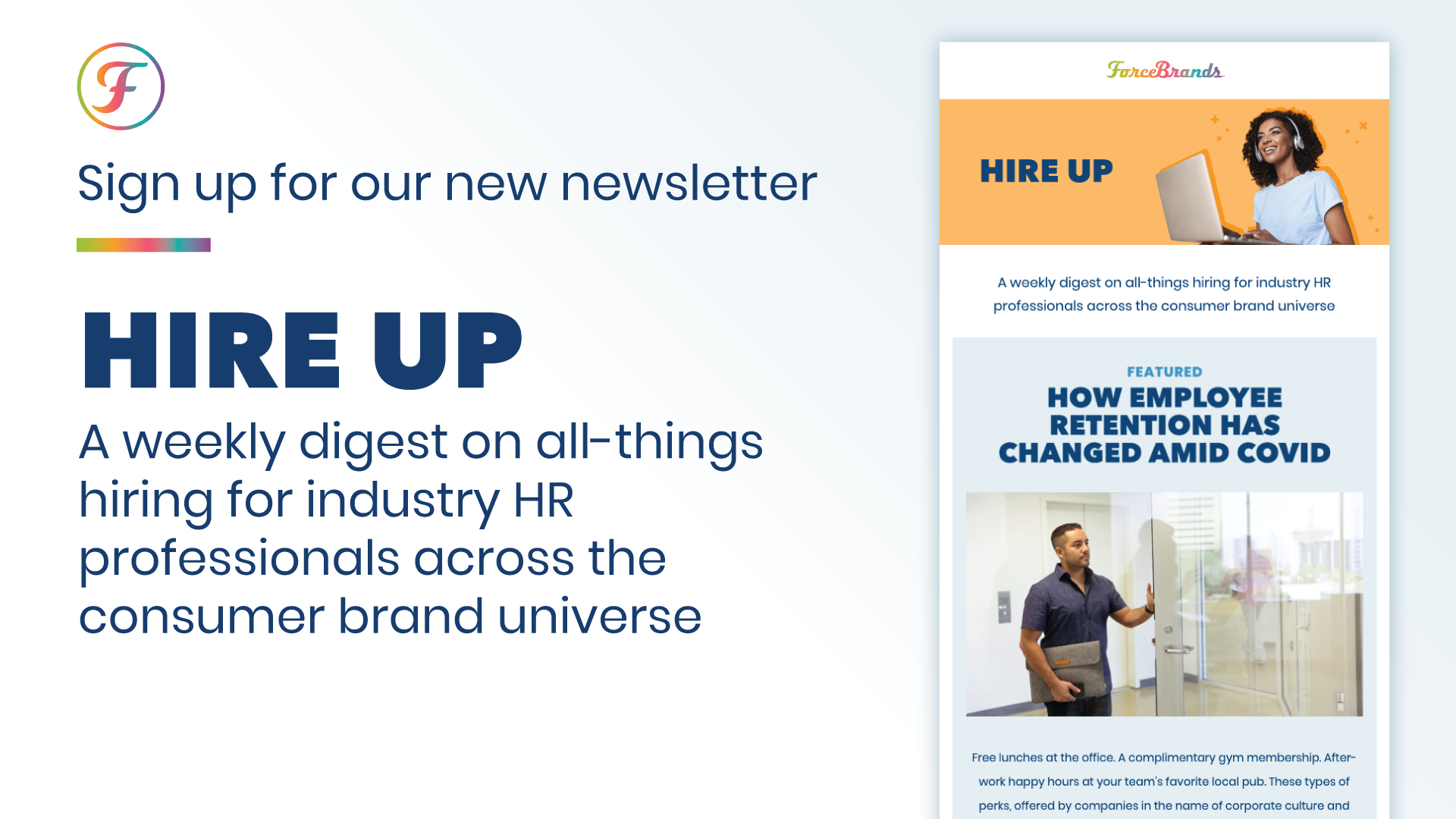 HIRE Up newsletter sign up