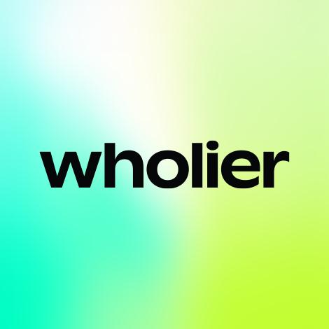 wholier logo