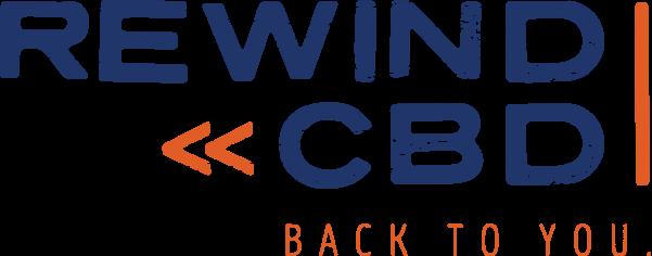 Rewind cbd logo
