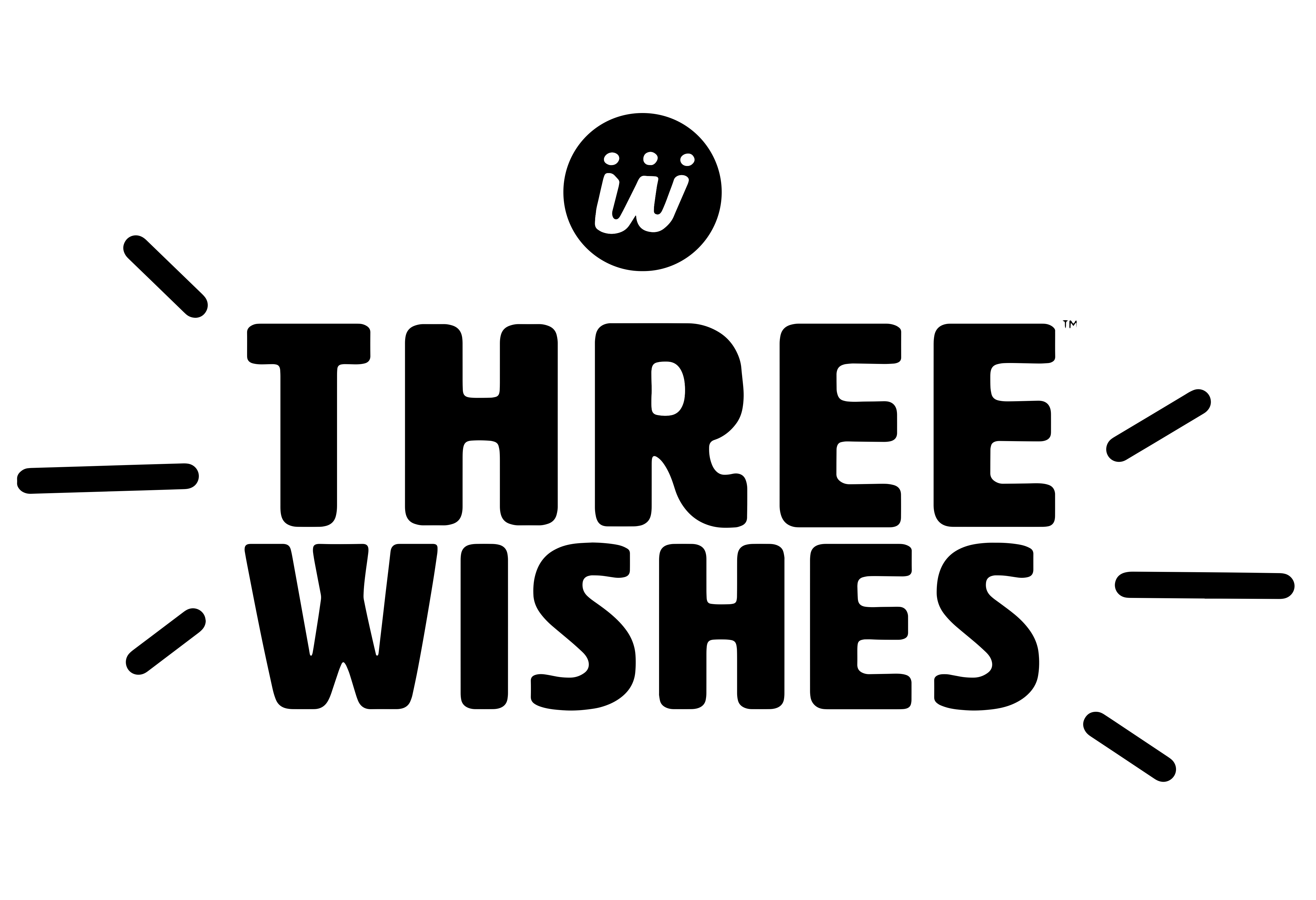 Three wishes logo vector  1