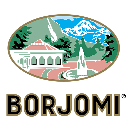 Square borjomi logo png transparent